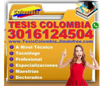 ⭐ Proyectos De Grado, PostGrado, Tesis, Bogota, Cali, Medellin, Barranquilla, Ca...