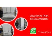 VENTA Y FABRICA DE ESTANTERIA PARA HOSPITALES CLINICAS Y LABOTATORIOS MEDICAMNET...