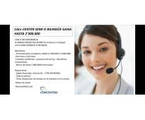 Agente call center bilingües o semi-bilingües