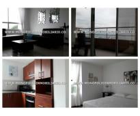 APARTAMENTO AMOBLADO EN EL POBLADO - EL TESORO  COD: 6674 Hermoso apartamento am...