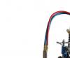 Cortadora y biseladora de tubos manual CG2-11Y, llama de oxicorte