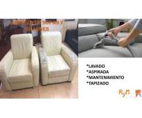 Reparación, mantenimiento, tapiceria y lavado de sillas de oficina