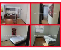 apartamento amoblado para la renta en el poblado medellin cod 3164