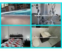 rento apartamento amoblado en el poblado cód. 3001