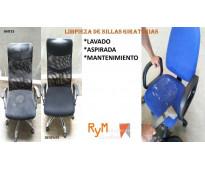 servicios de mantenimiento para sillas de oficina