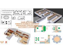 Adecuacion y  construción de oficinas