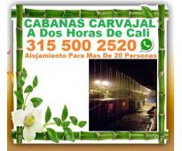 ⭐ Hotel, Cabañas Carvajal, Alojamiento En San Cipriano, Buenaventura, Reserva Na...