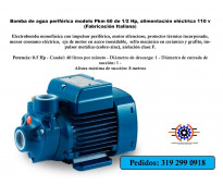 #Distribuimos #Bombas #periféricas en hierro, motor: HI-FORCE y #Electrobombas c...
