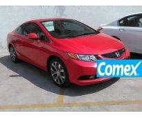 Honda civic 4p ex-l  modelo 2013