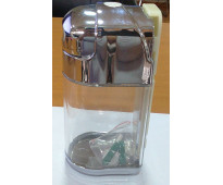 Dispensador jabon plastica 600ml