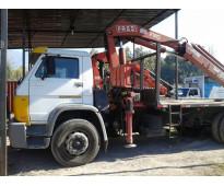camion v palfingerwagen con grua pluma