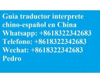 Interprete Traductor Guia chino español en Beijing China