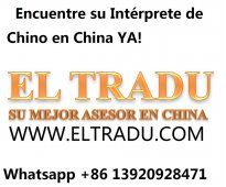Intérprete traductor chino espanol