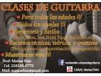 Clases de guitarra y música!!! zona V Crespo, Once, Barrio Norte, Palermo, Belgrano,etc !!