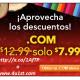 Obtenga su .com gratis con la compra de su sitio web