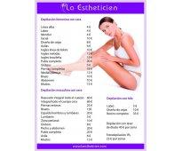 Depilación, tratamientos estéticos y mas
