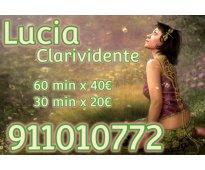 Lucia clarividente a 30min x 20e