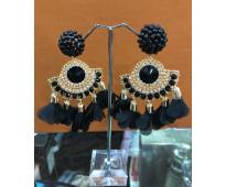Lindos diseños de pendientes artesanales