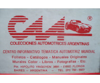 * automobilia c.a.a. * venta de manuales tecnicos de automoviles antiguos & clas