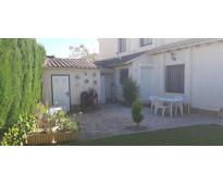 Ocasion chalet adosado con garaje y trastero y piscina y jardin