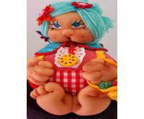 Muñeca de trapo artesana