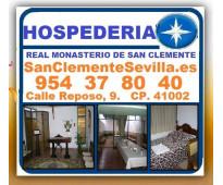 ⭐ hospedería monástica, en sevilla, andalucia, españa, convento, hospedaje, muse...