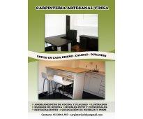 Carpinteria vinka muebles de cocina placards restauraciones