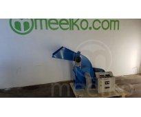 Molino triturador de biomasa a martillo electrico hasta 700 kg hora - mkh420c