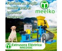 Extrusora meelko para pellets alimentación perros y gatos 60-80kg/h 11kw - mked0...