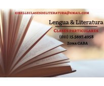 Clases particulares de lengua y literatura caba