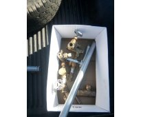 Vendo caldera a leña reparada a nueva de 10m y tina de 1100litros más 200 moldes
