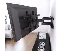 Instalacion colocacion soporte tv, lcd, led, smart tv, plasma, monitores paredes...