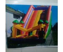 Tobogan  inflable  para niños