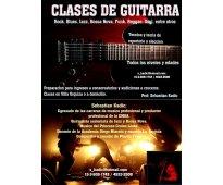 Clases de guitarra todos los niveles (urquiza y a dom)