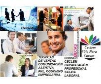 Cursos cursos becados + empleo trabajo + salida laboral
