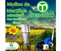 Molino de martillo meelko - mkh500c