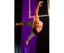 Telas, trapecio y aro en san andres