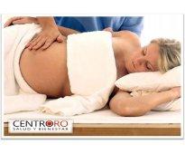 Masajes manuales prenatales en centro oro