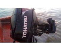Motor tohatsu 18 hp con papeles