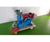Máquina meelko de hacer pellets concentrados balanceados 120 mm diesel - mkfd120
