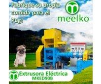 Extrusora meelko para pellets alimentación perros y gatos 300-350kg/h 37kw - mke...