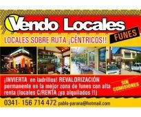 Financio: locales,sin gastos: dueño centro en ruta..mejor precio y ubicacion..