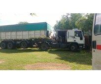 Vendo camión fiat tector 1722 2010 y batea...