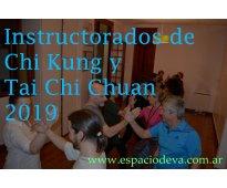 Instructorado de chi kung en palermo 2019