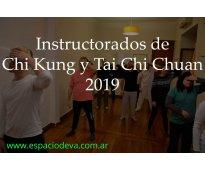Instructorado de tai chi chuan en palermo 2019