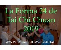 Cursos cortos de tai chi chuan y chi kung 2019