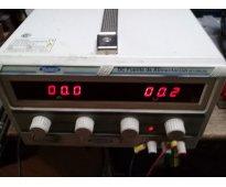 Regulador de voltaje para laboratorio electrónico 30 v 20 a