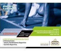 Licenciatura en educación física con doble orientación en salud y rendimiento de...