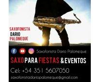 Saxofonista para fiestas & eventos