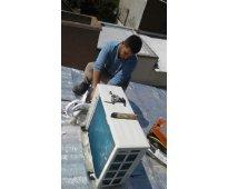 Instalación reparación , carga de gas de refrigerante y split